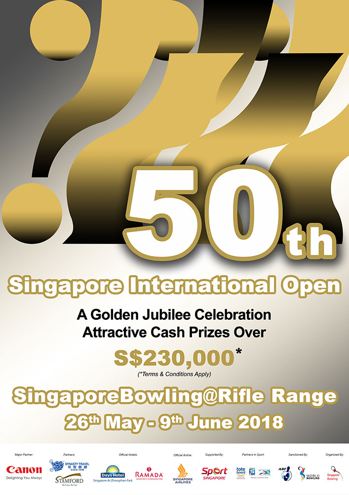 50th Singapore Open 2018