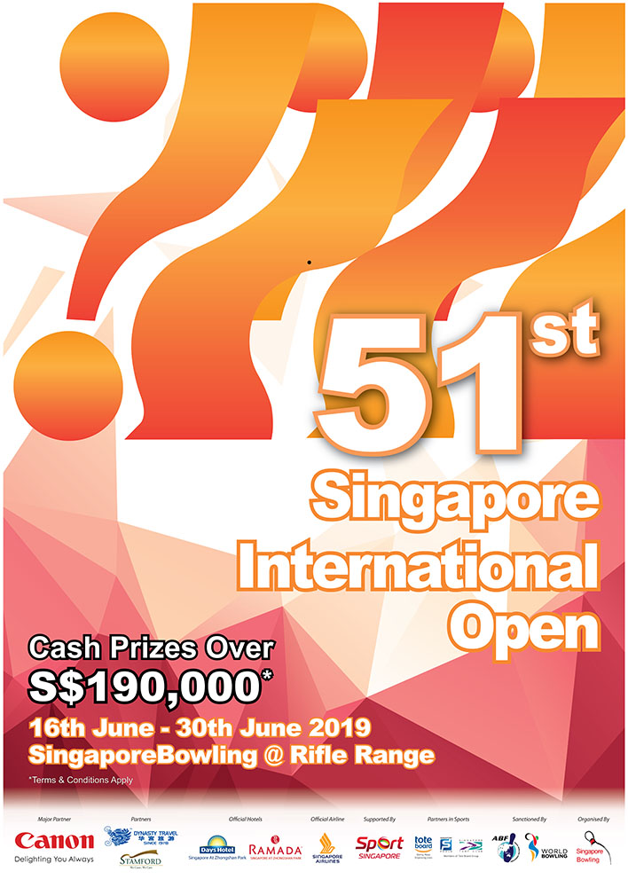 51st Singapore Open 2019 Results