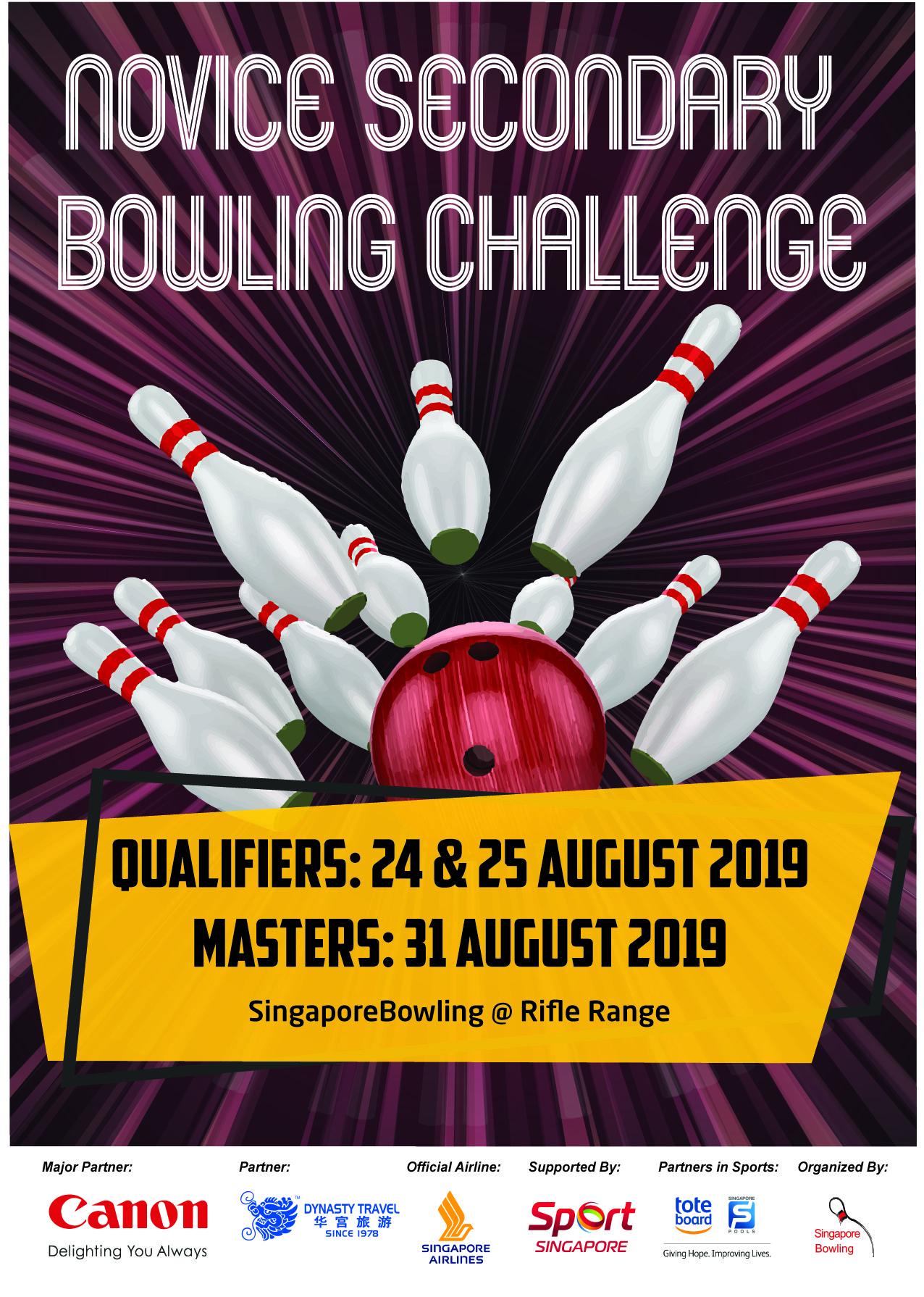 Novice Secondary Bowling Challenge 2019