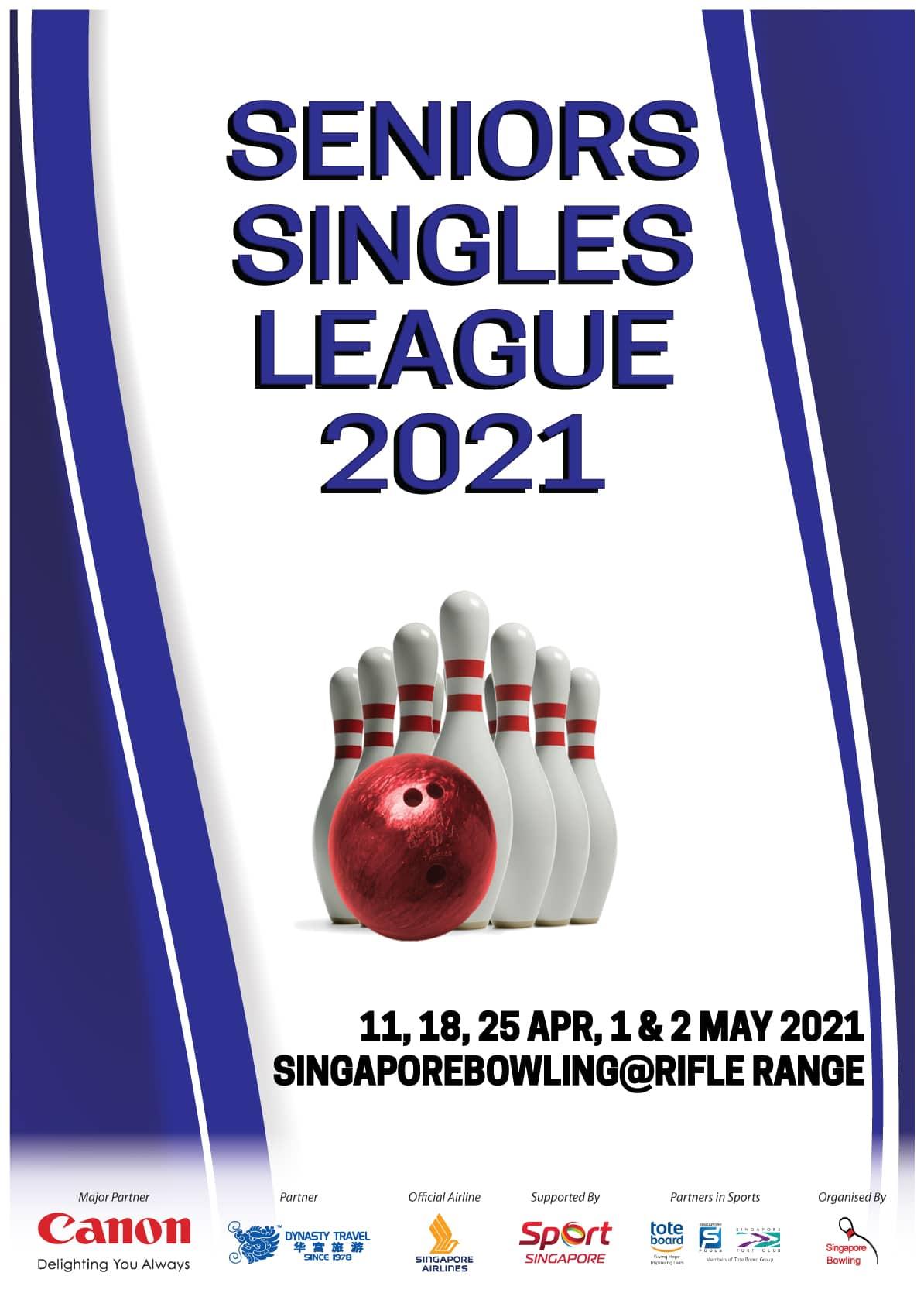 Seniors Singles League 2021